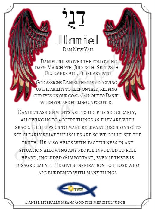 DANIEL angle pronunciation