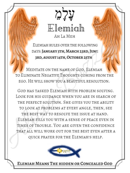 ELEMIAH angle pronunciation