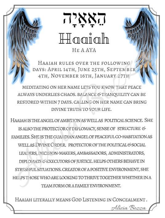 HAAIAH angle pronunciation