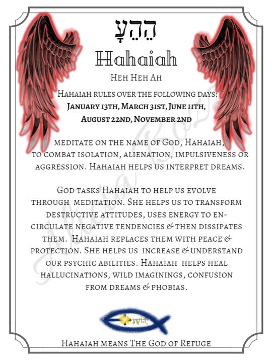HAHAIAH angle pronunciation