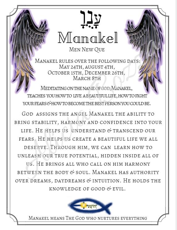 MANAKEL angle pronunciation