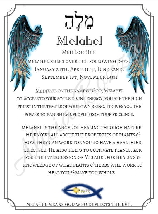 MELAHEL angle pronunciation