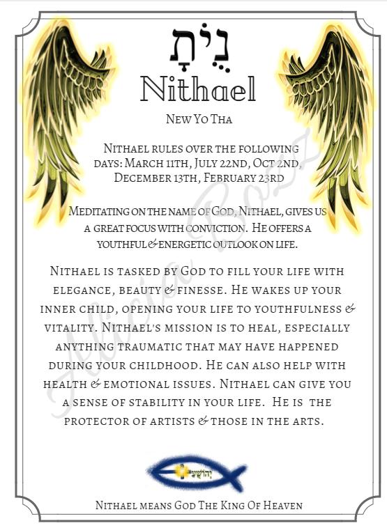 NITHAEL angle pronunciation