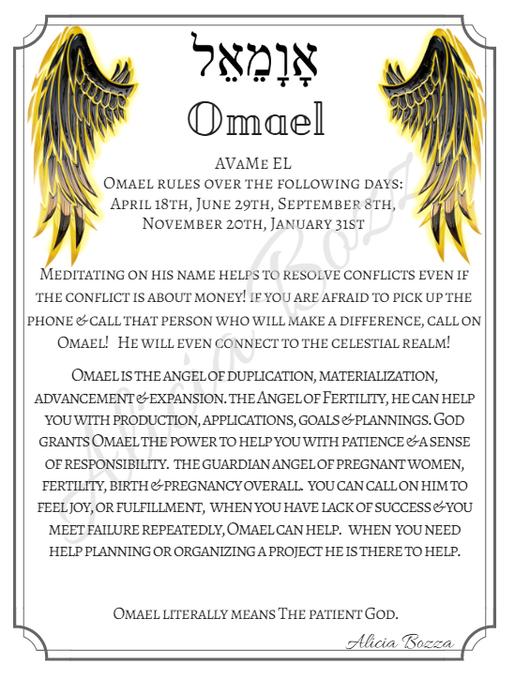 OMAEL angle pronunciation