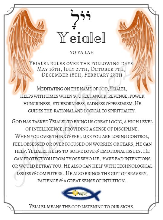 YEIALEL angle pronunciation