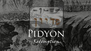 Jewish Redemption Ceremony: Firstborn Pidyon Ha-ben
