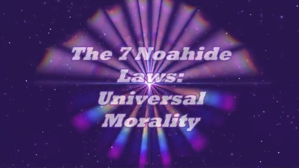 Zayin, The Seven Noahide Laws
