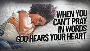 Read more about the article Does God Answer Unspoken Prayers?