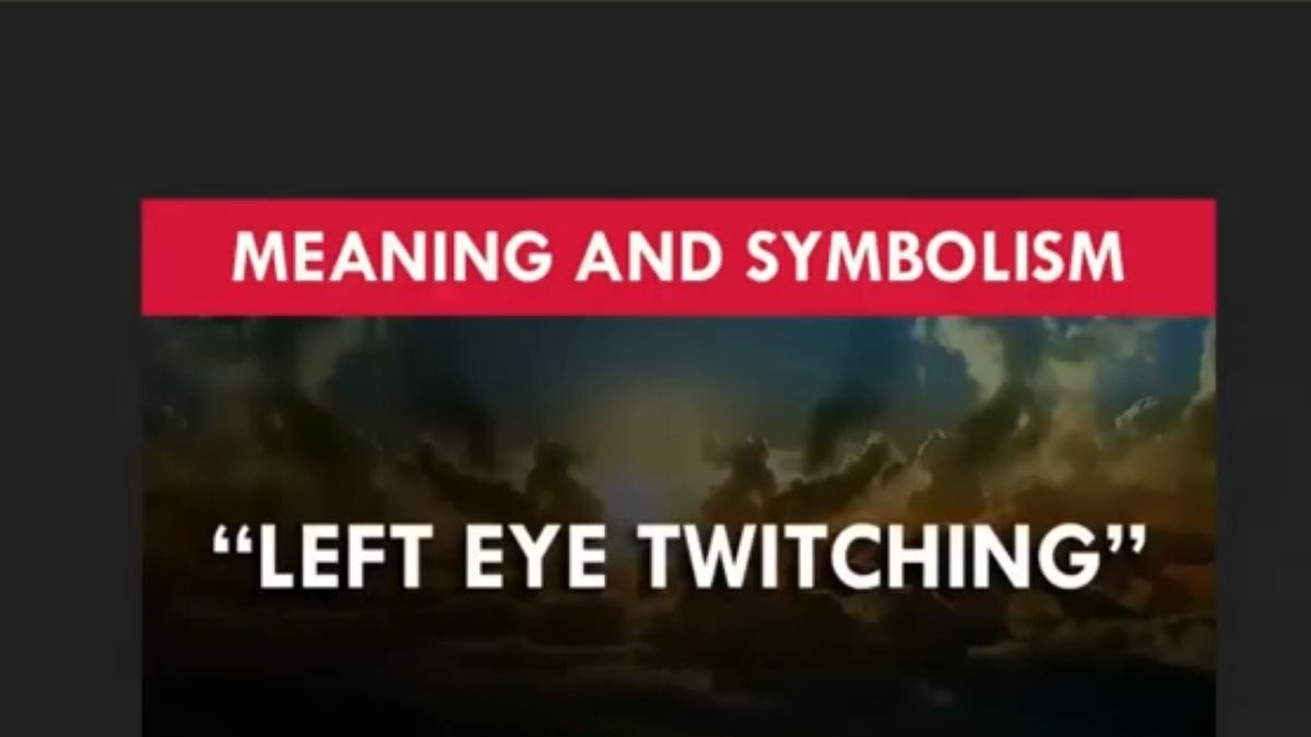 Read more about the article Left eye twitching: Does It Have a Biblical Meaning? [Explained]